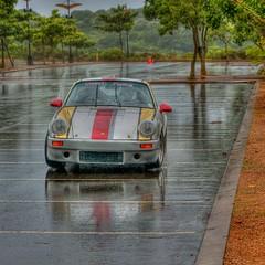 Porsche in the rain (klaash63) Tags: reflection rain race southafrica photographer sony parking porsche alfa alpha hdr regen hdri parkeerplaats reflectie fotograaf spiegeling heiligenberg zuidafrika photomatix a700 tonemapping klaasheiligenberg klaash63 klaash mygearandme