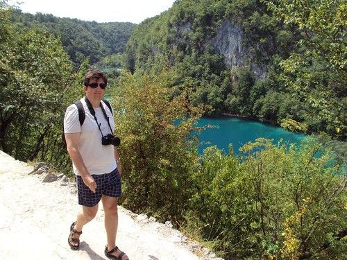 breath-taking Plitvice Lakes 1. Walking closer and closer