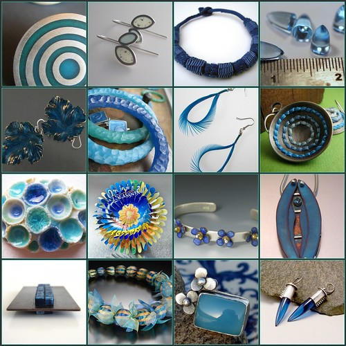 Weekend Eye Candy - Blues Edition by lorahart