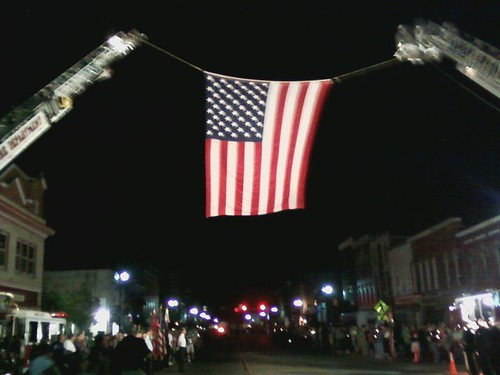 flag over main st medina