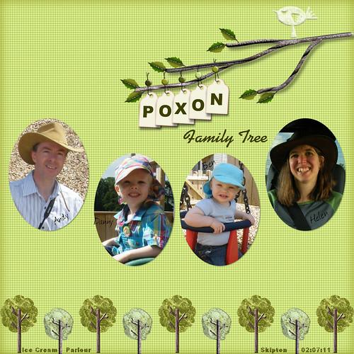 Poxon Family Tree