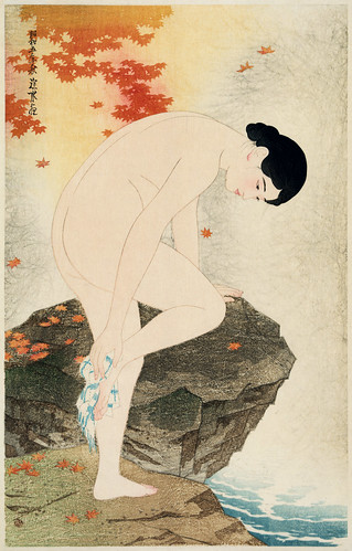 Itō Shinsui - The Fragrance of a Bath [1930] by Gandalf's Gallery