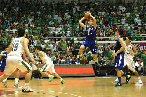 UAAP Season 74: Ateneo Blue Eagles vs. De La Salle Green Archers, July 16, 2011