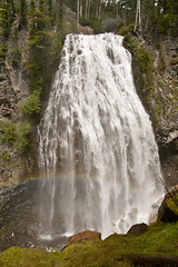 Narada Falls with rainbow!
