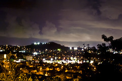 guaynabo city view (roffoc) Tags: light sky mountain grass night clouds luces noche view puertorico pueblo cielo nubes vista monte guaynabo