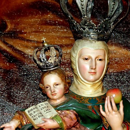 Advocación de Nuestra Señora de Valvanera (esta imagen está en Madrid en la VOT)