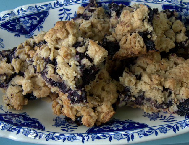 Blueberry Crumble Squares