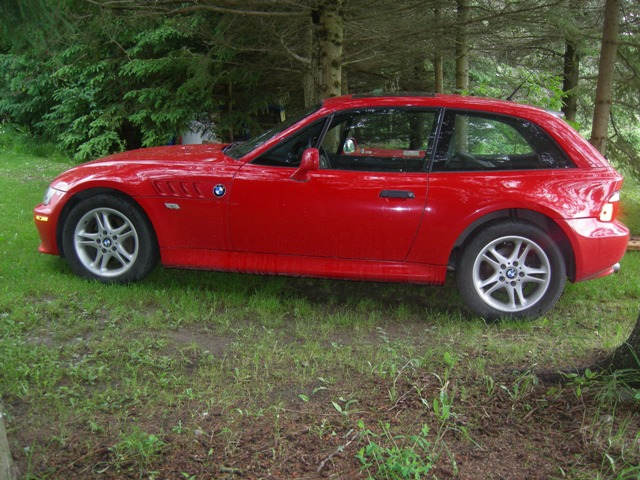 2000 Z3 Coupe | Hellrot Red (Bright Red) | Black