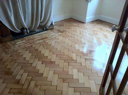 Columbian Pine Parquet Floor 2