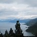 toba lake view from sipiso-piso waterfall