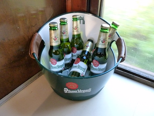 Beer bucket  - The Pilsner Urquell Express to the British Open 2011