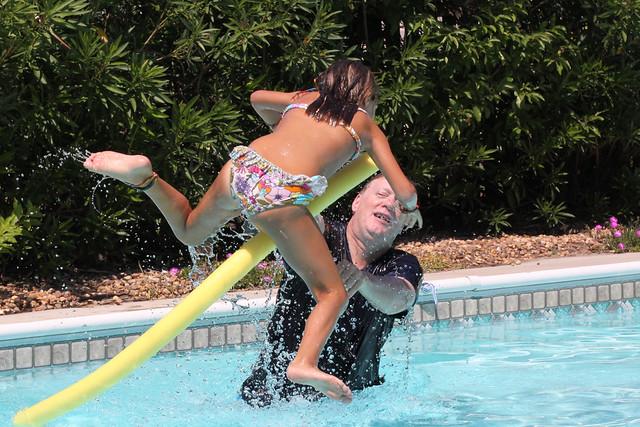 Beach House Pool Fun