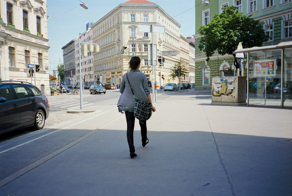 Vienna street scene