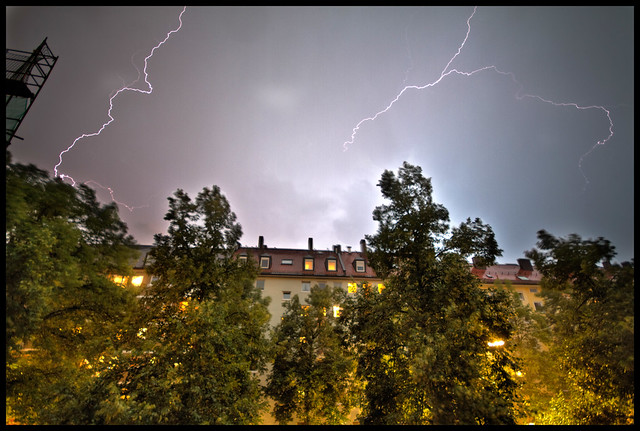 lightning over Munich 3