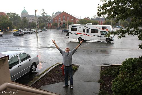 Raining Brett