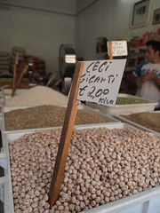 Shop selling beans 10/07/11 (sugarsugar_vi) Tags: summer desserts seafood sicily palermo erice trapani