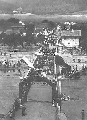 Most Dobrichovice - puvodni