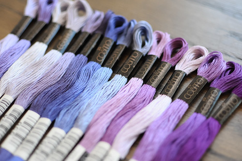 Cosmo Embroidery Floss Palette