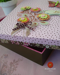 Porta Documentos da Julia (mariafloratelier2) Tags: caixa scrap docs mdf documentos