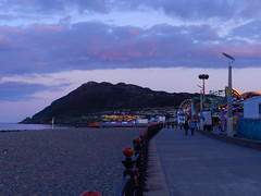 Friday evening on the Seafront, before Mac Fleetwood gig
