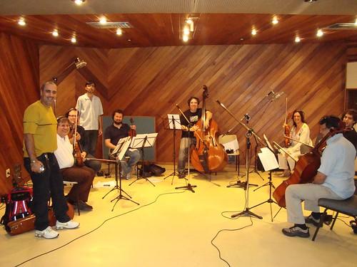 Sergio Lopes preparando novo CD