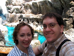 Richard and Joy at the Penguin exhibit