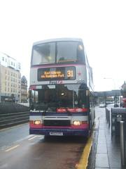 First Glasgow Volvo Olympian 34203 Glasgow 05/11/10 (David_92) Tags: volvo glasgow first alexander royale olympian uyg 34203 m923 m923uyg