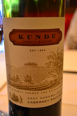 Kunde (pjpink) Tags: red summer glass restaurant virginia bottle wine eating pegasus july richmond dining rva kunde cabernet sauvignon 2011 pjpink nearwestend