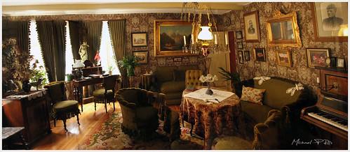 Danish Living Room From Around 1900u0027s