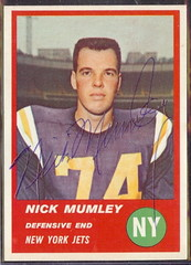 1963 Fleer - 22 - Nick Mumley
