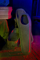 Child Size (Lost America) Tags: lightpainting night casket funeral bodie coffin morticiansparlor