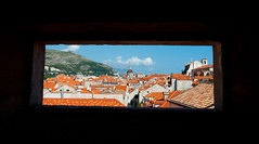 Self Framing (Chris Willis 10) Tags: city holiday natural croatia roofs frame walls dubrovnik ilobsterit