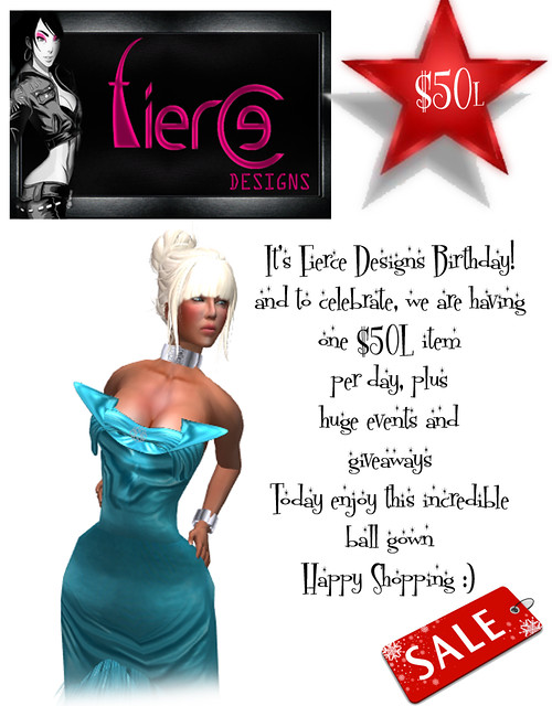 50L Birthday Promotion from Fierce Designs (oceana)