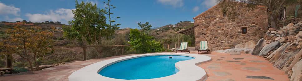 Los Abuelos, Maison en Las Palmas de G. C., Maison avec Piscine priv�e Gran Canaria, Maison de vacances en Grande Canarie, G�te en Grande Canarie.