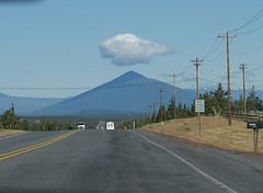 Black Butte from highway 20