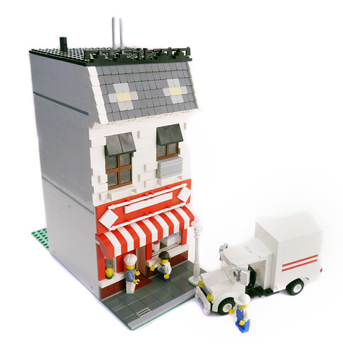Lego City Bakery