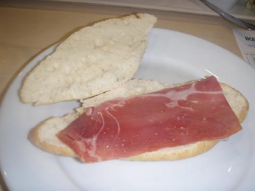 Zaragoza | Ikea | Bocata de jamón