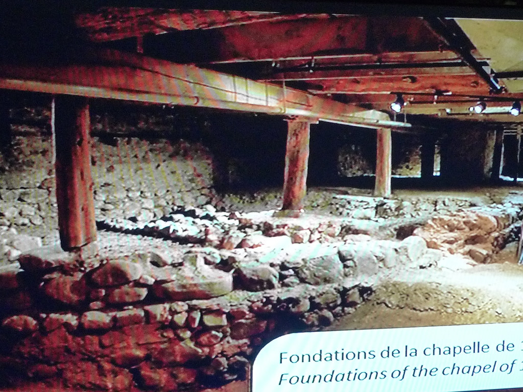 Copyright Photo: Notre-Dame-de-Bon-Secours Chapel Excavation 1 by Montreal Photo Daily, on Flickr