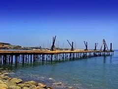 Antofagasta - Muelle Salitrero (Victorddt) Tags: chile sonycybershot antofagasta muellesalitrero