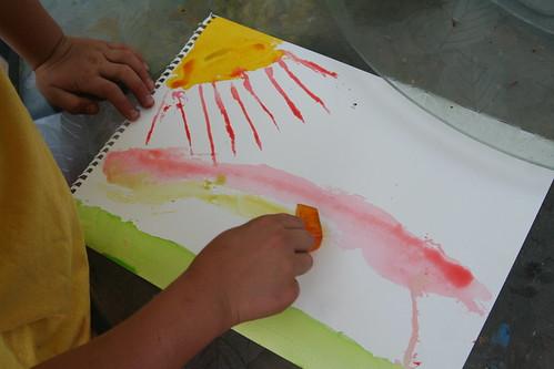 Lucas's Ice Cube Art