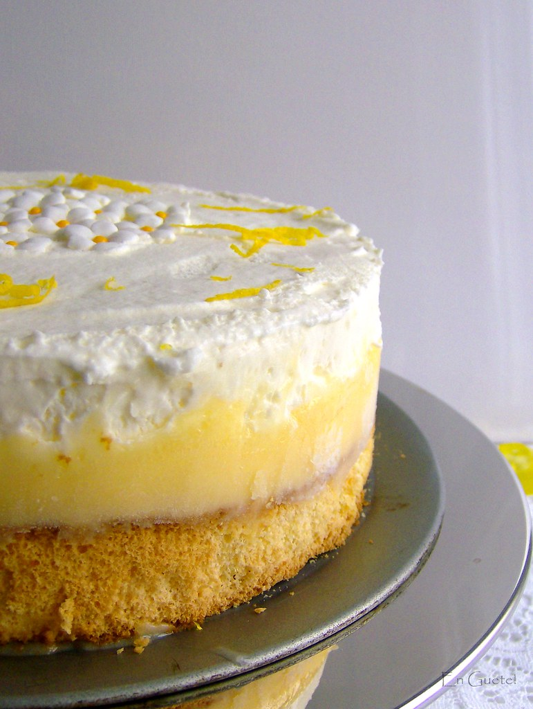 Torta cítrica helada