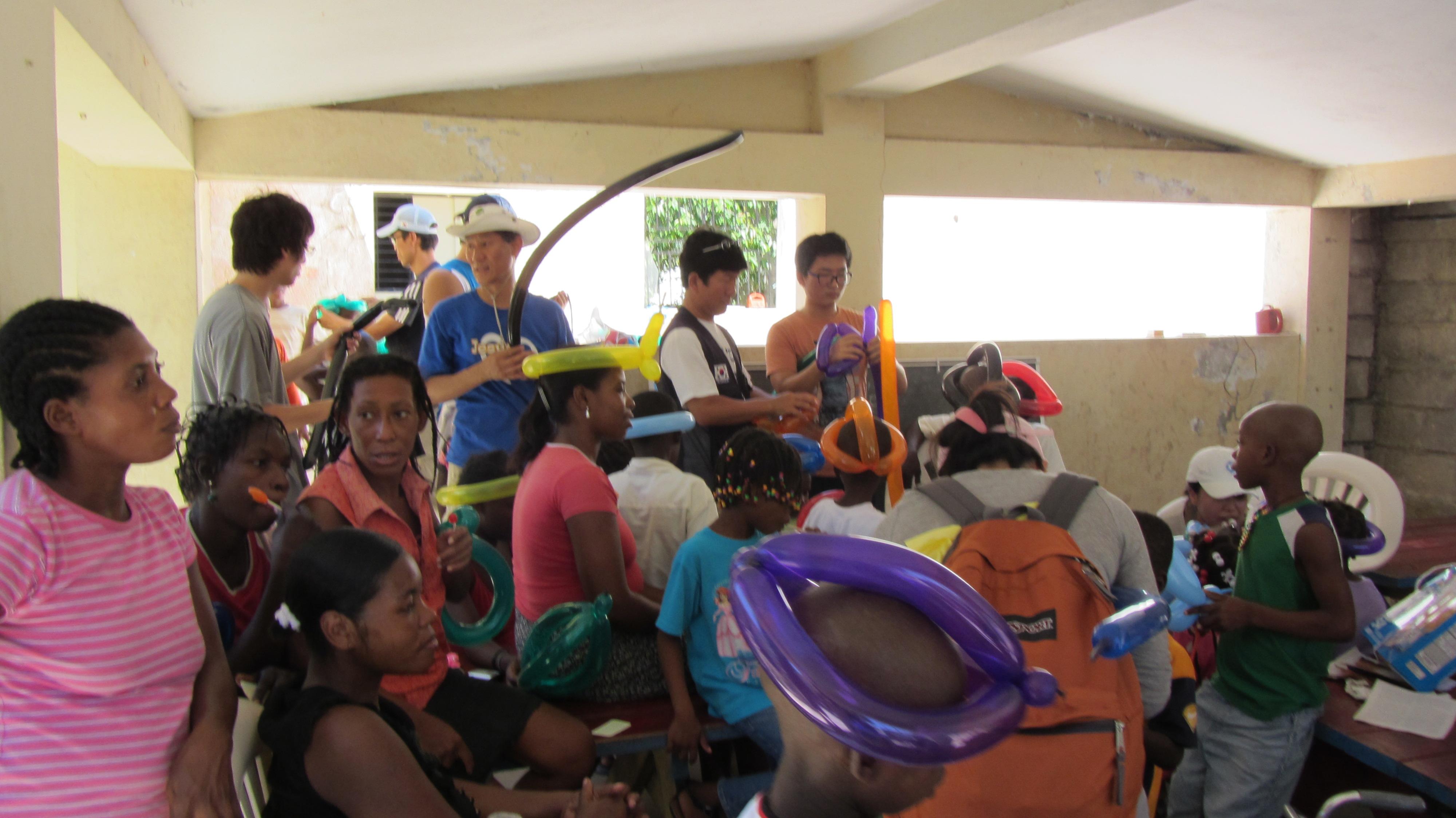 2011 아이티단기선교 고아원