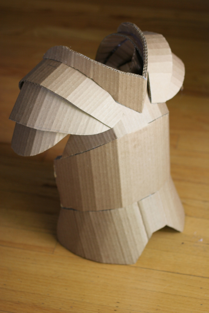 cardboard armour template the world 39 s best photos of armor and cardboard flickr