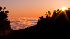 Sunset overclouds (mari-we) Tags: sunset portugal clouds eos madeira 400d