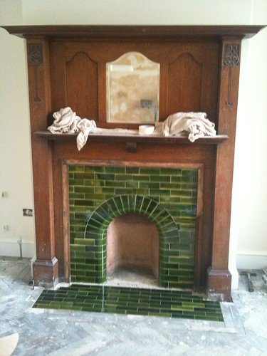 Fireplace hearth nearly done by sashinka-uk