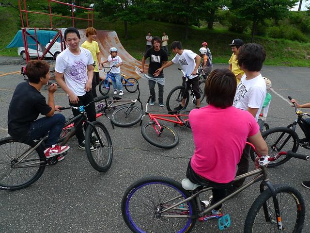 Tubagra MTB Street Trick Contest in Fujimi 2011
