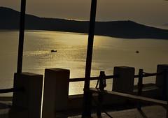 Santorini sunset (Nishant Salvi) Tags: sunset sea evening europe santorini greece caldera handheld kit oia 18105 18105mm d7000 nikond7000