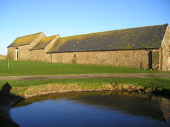 Sker House (The Glamorgan-Gwent Archaeological Trust) Tags: house pond farm bridgend sker ggat