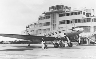 St. Albert at Dublin Airport, circa 1950