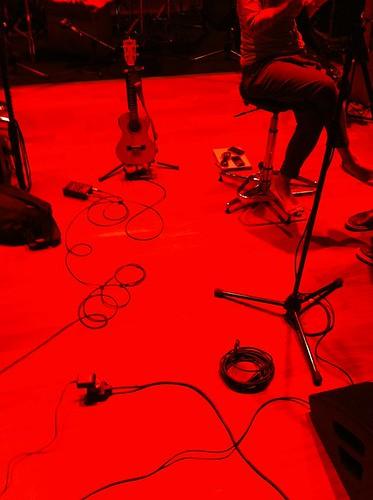 Sound setup + soundcheck